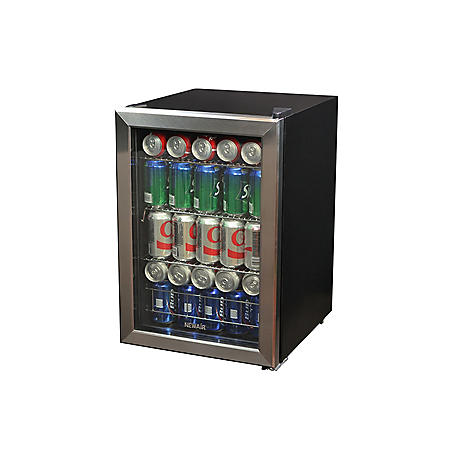 NewAir 84-Can Stainless Steel Beverage Cooler