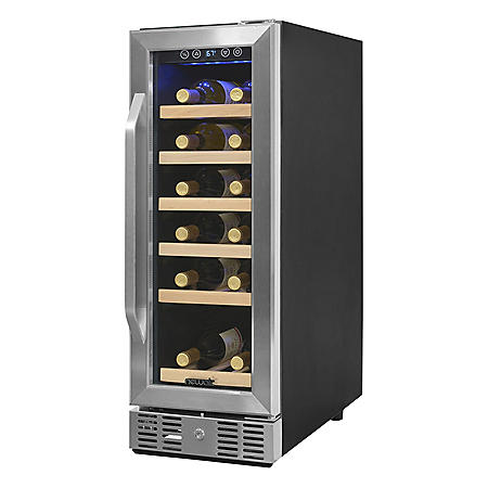 NewAir 19-Bottle Compact Compressor Wine Cooler