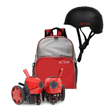 ACTON R6 RocketSkates with Helmet and Backpack