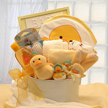 Bath Time Baby Gift Tub