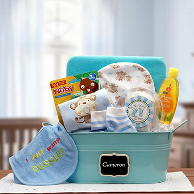 New Baby Celebration Gift Box in Blue