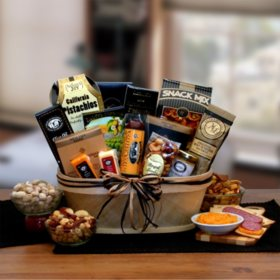 Gift baskets towers sams club gourmet nut sausage gift basket negle Image collections
