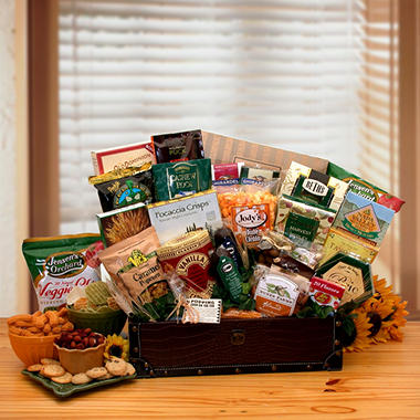 Gourmet Snack Favorites Gift Chest