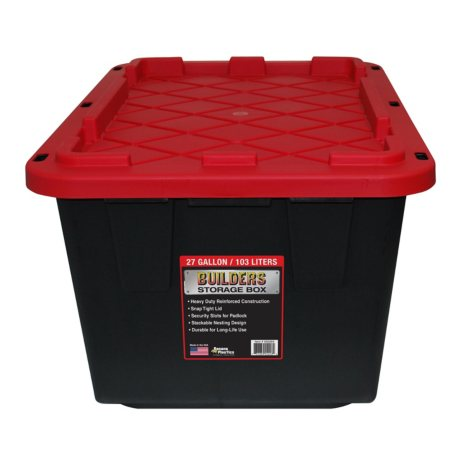 Builders Storage Box 27-Gallon Builder Storage Box