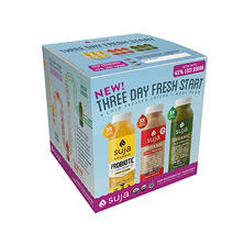 Suja Three-Day Renewal, Cold-Pressed Organic Juices and Whole Food Meal Plan
