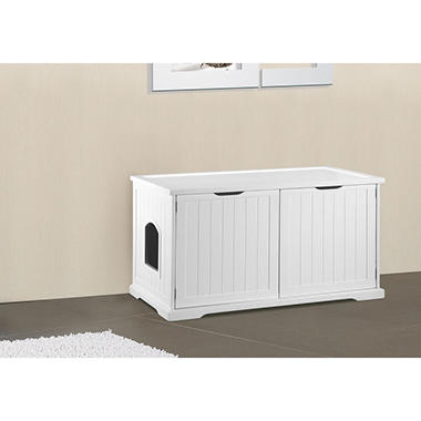 Zoovilla Cat Washroom Bench (Choose Your Color)