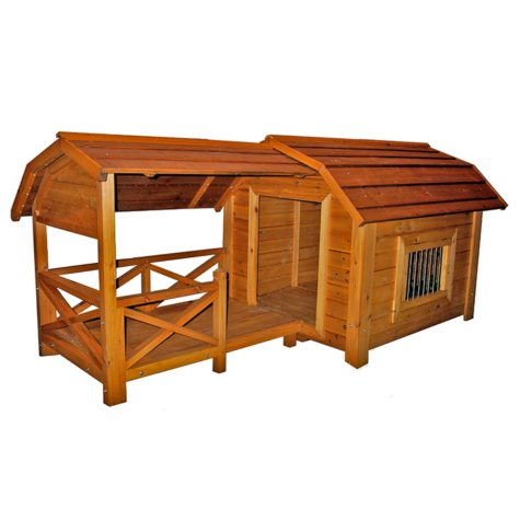 Zoovilla Barn Dog House