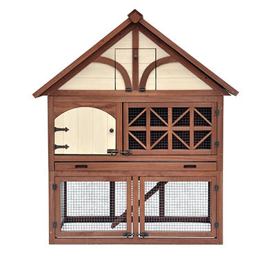 Zoovilla Tudor Rabbit Hutch