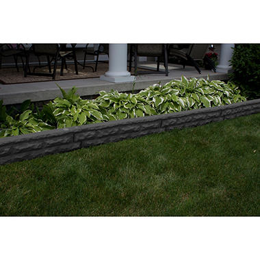 Garden Wizard Stone Border   Assorted Colors
