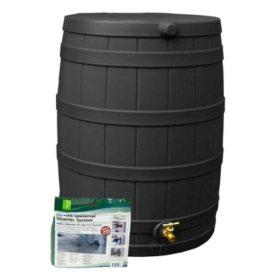 50-Gallon Rain Wizard Diverter Kit, Assorted Colors
