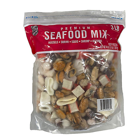 Seafood Mix, Frozen (3 lbs.)