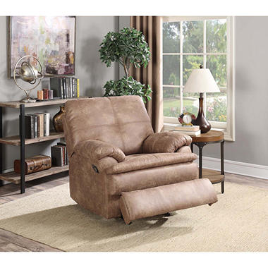 Buck Faux-Leather Recliner & Buck Faux-Leather Recliner - Samu0027s Club islam-shia.org