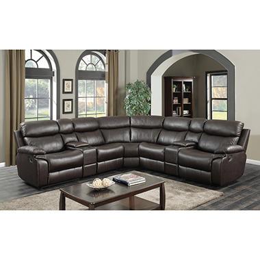 Beau Ashburn 7 Piece Sectional Sofa