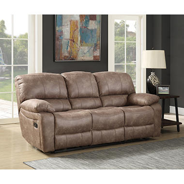 Reclining Living Room Furniture. Roosevelt Reclining Sofa  Sam s Club