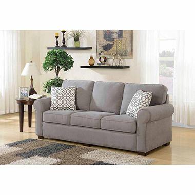 Sams Sofa Reagan Leather Motion Sofa Recliner Set Sam S