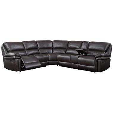 Memberu0027s Mark Warren 3-Piece Reclining Sectional  sc 1 st  Samu0027s Club : 3 piece reclining sectional sofa - islam-shia.org