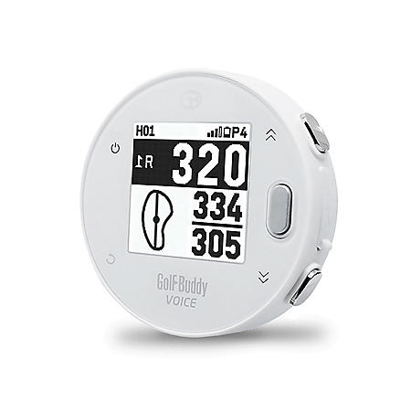 GolfBuddy VoiceX Smart Talking Golf GPS with LCD Display & App