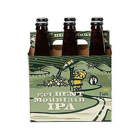 Parkway Get Bent Mountain IPA (12 fl. oz. bottle, 6 pk.)