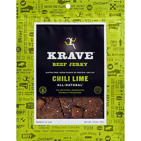 Krave Chili Lime Beef Jerky (16 oz.)