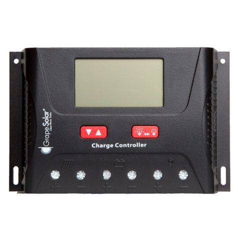 Grape Solar 40 Amp PWM Solar Charge Controller with Remote Monitoring