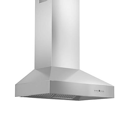 ZLINE 36-in. 1200 CFM Professional Wall-Mount Range Hood in Stainless Steel