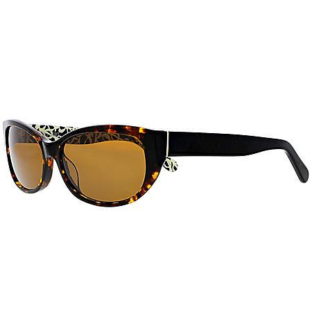 Ashby Grace Women's Polarized Cateye Sunglasses