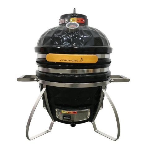 Vision Grills Diamond-Cut Cadet Kamado Grill, Assorted Colors
