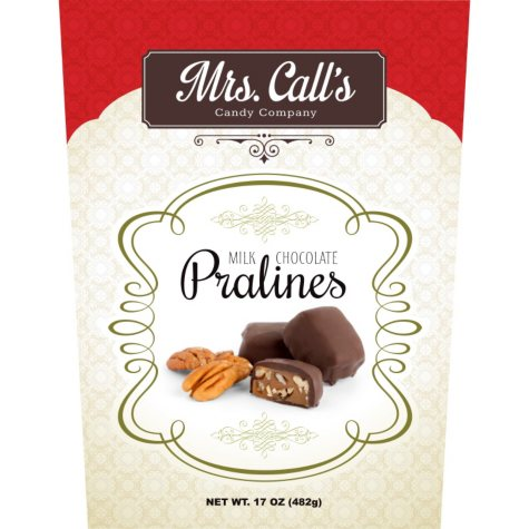 Mrs. Call's Milk Chocolate Pralines (17 oz.)