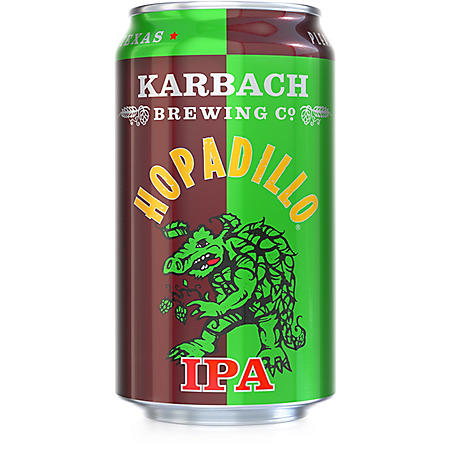 Karbach Hopadillo IPA (12 fl. oz. can, 6 pk.)