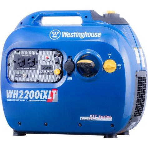 Westinghouse 1,800/2,200-Watt Gasoline-Powered Digital Inverter Generator