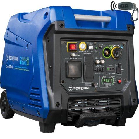 Westinghouse 3,700/4,500-Watt Dual-Fuel Inverter Generator
