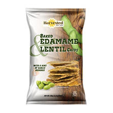 Harvested for You Baked Edamame Lentil Chips (20 oz.)
