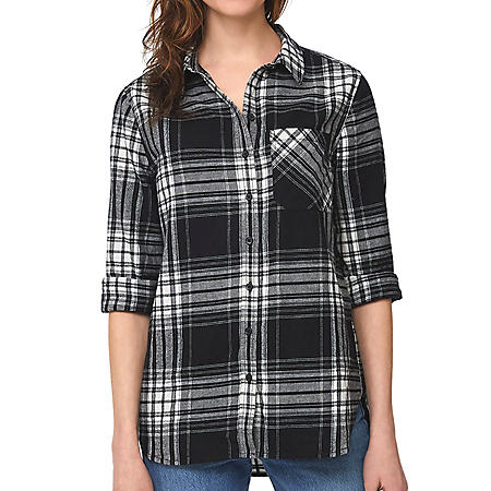 Beach Lunch Lounge Ladies Scout Flannel