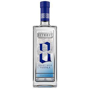 Eight Mile Vodka (750 ml)