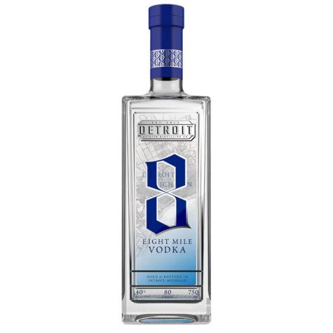 Eight Mile Vodka (750 ml)