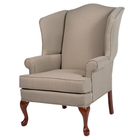 Ellis Pashmina Wingback Chair