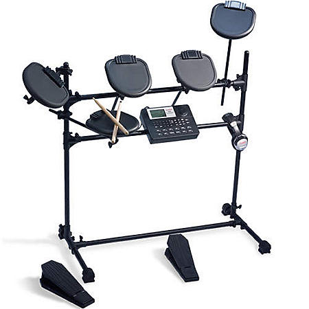 ion ied01 electronic drum set w accessories sam 39 s club. Black Bedroom Furniture Sets. Home Design Ideas