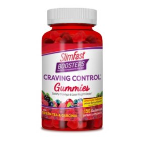 SlimFast Boosters Craving Control Gummies (150 ct.)