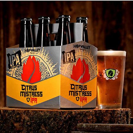 Hop Valley Citrus Mistress IPA (12 fl. oz. bottle, 6 pk.)