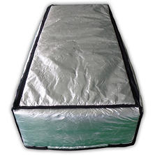 "Remington Solar 25"" x 59"" Insulated Attic Stair Cover"