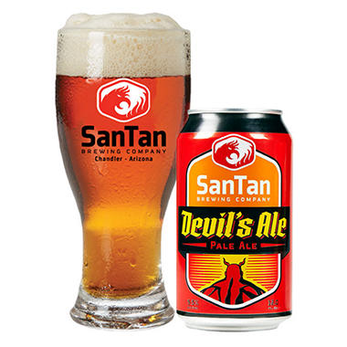 SanTan Devil's Ale Pale Ale (12 fl. oz. can, 6  pk.)