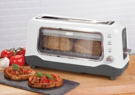 Dash Clearview Toaster (Assorted Colors)