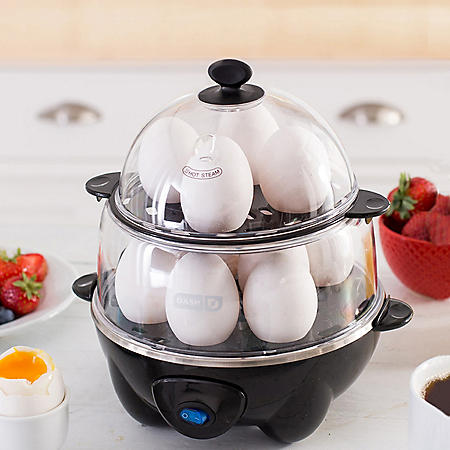 Dash Deluxe 12-Egg Cooker (Assorted Colors)