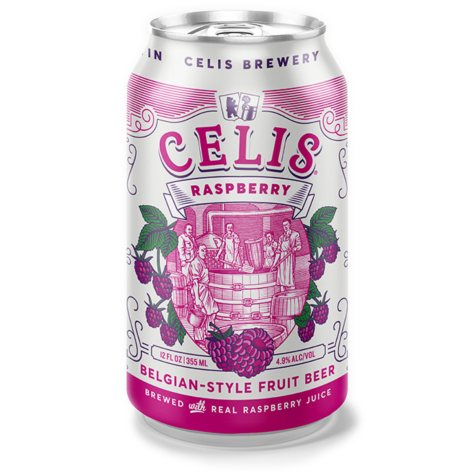 Celis Raspberry Beer (12 fl. oz. can, 6 pk.)