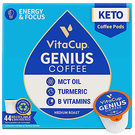 VitaCup Genius Blend Coffee Pods (44 ct.)