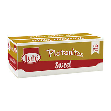 Lulu Sweet Plantain Chips (30 ct.)