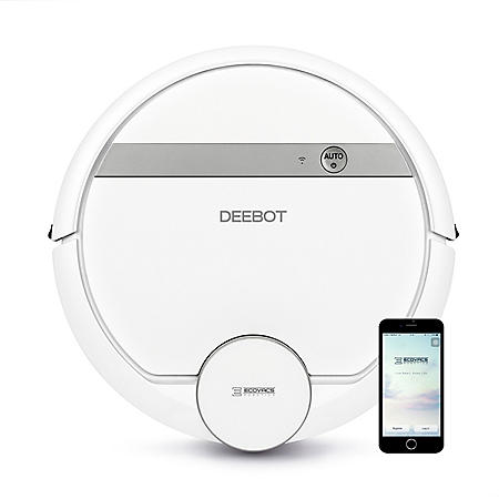 ECOVACS DEEBOT 900 Smart Robotic Vacuum Cleaner with Advanced Navigation & Mapping + Bonus Accessory Kit