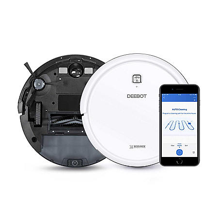 Ecovacs Deebot N79w Smart Robotic Vacuum Cleaner Sam S Club