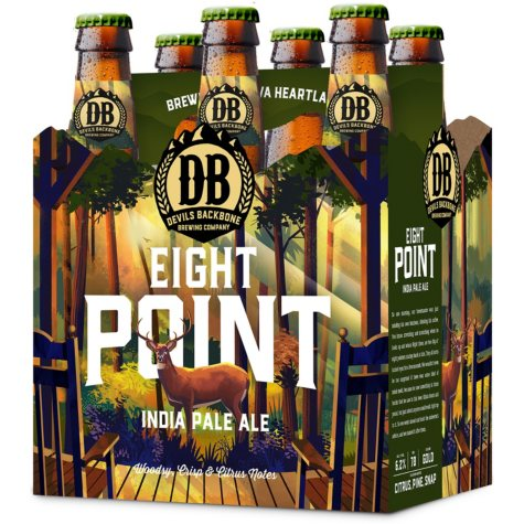 Devils Backbone Eight Point IPA (12 fl. oz. bottle, 6 pk.)