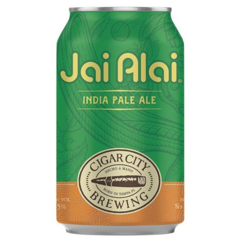 Cigar City Jai Alai India Pale Ale (12 fl. oz. can, 12 pk.)